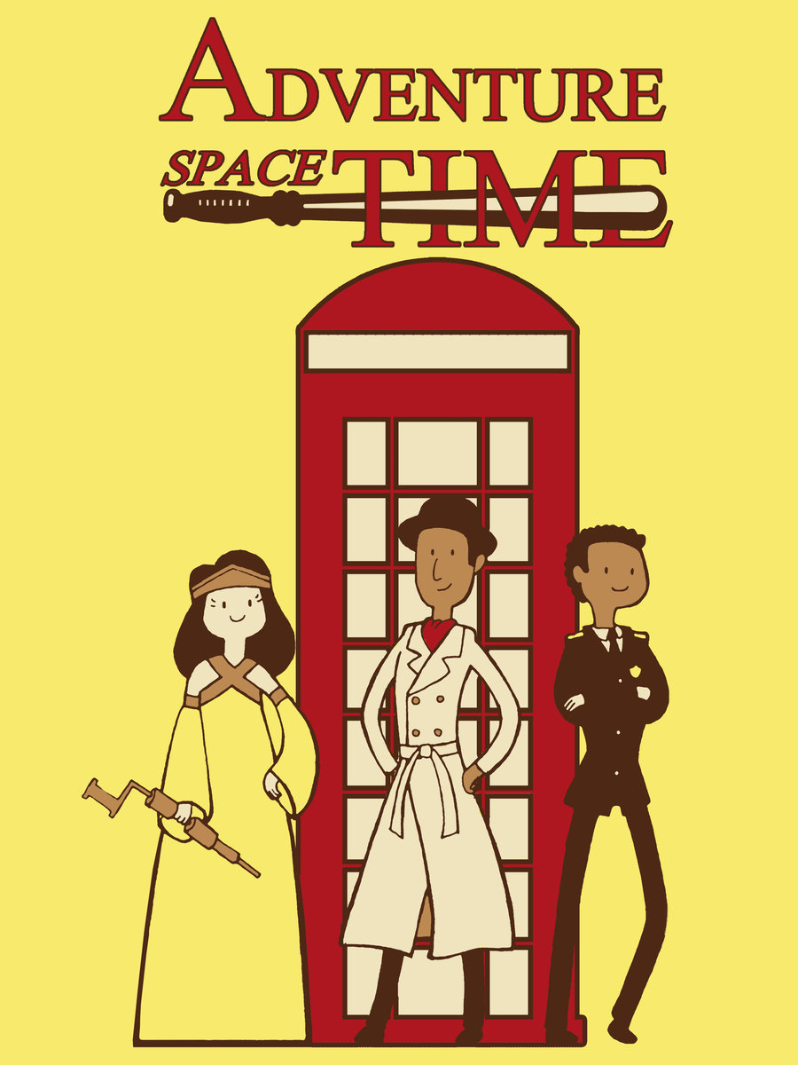 exaggeratedspecificity:  Adventure Space Time by ~christadaelia  who are these people haha cute thoo