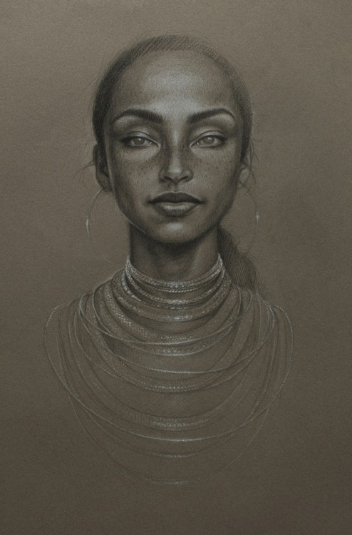 "Cool Art: The Moon & Stars - Sade | Drawing This drawing of iconic singer/songwriter Sade was done by emerging visual artist Sara Golish of Windsor, Ontario. You can check out more of her works here. Conveyer Of Cool ""Stay COOL"" Tumblr 