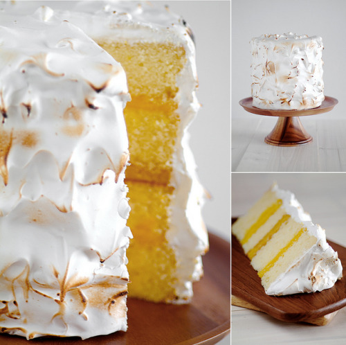 Blowtorched Beauty (lemon layer Cake tutorial)