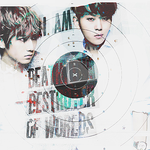 "KPOPXMEN: Junhyung x Hyunseung — ""I am Death, the destroyer of worlds."""