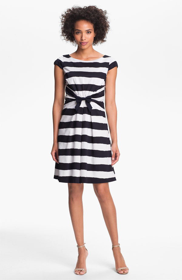 Cute summer work dress by Tahari and on sale for $70.80 (from $118). Sizes 8, 12 and 14 are still available.