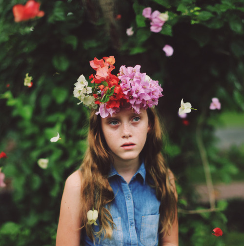 Grace in your heart and flowers in your hair. by Asher Lilley http://flic.kr/p/ekUasC