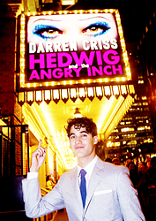 DarrenIsHedwig - Pics and gifs of Darren in Hedwig and the Angry Inch on Broadway. - Page 2 Tumblr_nrr9m7RPZk1sczt3wo9_250