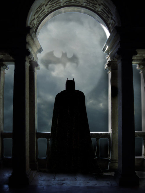 ronbeckdesigns:  The Dark Knight by ~Sam68