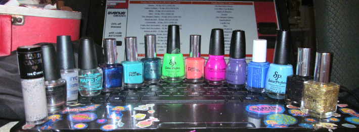 some of my new polishes