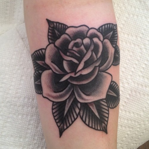 chuckdtattoos:  Roses roses (at Greenpoint Tattoo Co)