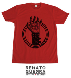 aleph on Flickr. Playera en color rojo. Edición limitada. $200 m.n. ¡Para adquirirla envía un mail a fixionauta@gmail.com! /// T-shirt in red. Limited edition. Send message to fixionauta@gmail.com to buy this item!