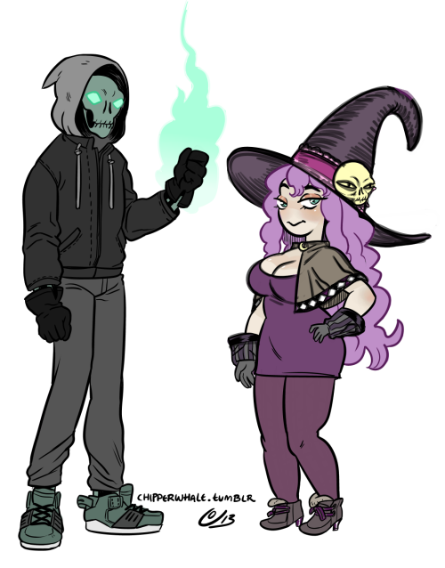 Slipshine character designs. Decided to make her a witch instead.