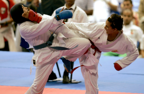 In Egypt, Some Women Fight Sexual Harassment With Karate Chops Dominique DeAngelo, theatlantic.com As instances of groping rise, so do self-defense classes.On Jan­u­ary 25, dur­ing protests com­mem­o­rat­ing the two-year anniver­sary of the rev­o­lu­tion that top­pled for­mer pres­i­dent Hosni Mubarak, human rights orga­ni­za­tions received …