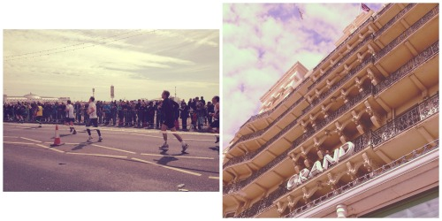//BRIGHTON MARATHON//BIG CONGRATULATIONS to all the 10,000 participants - what an amazing atmosphere on the seafront. We Instagrammed (@junkfunkshop) a jazz artist singing from the balcony of the Grand Hotel!Our Huw completed in 3:34! Did you run/cheer today? FB - www.facebook.com/junkfunkshop IG - junkfunkshop
