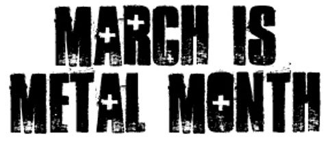 March is Metal Month! Stay tuned to Metal Sucks each week for celebrity metal playlists. Death metal, black metal, thrash and doom — it's on!http://spoti.fi/XSr2Wl