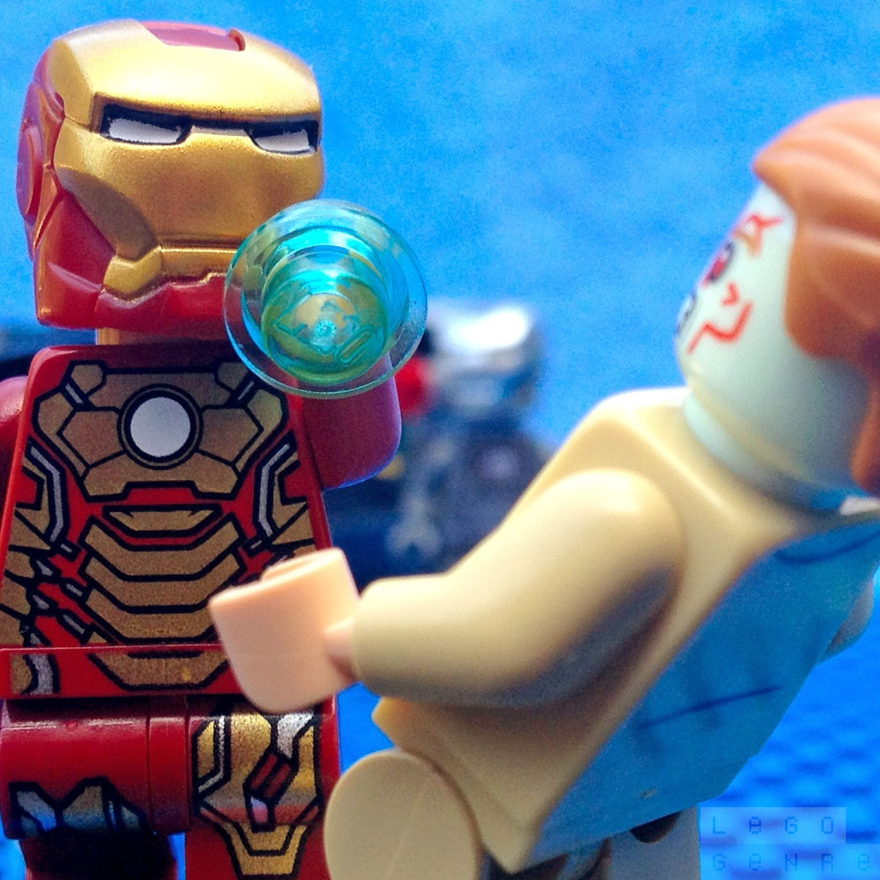Iron Man VS Aldrich Killian! — http://LegoGenre.com