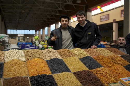 peacecorps:  At the market in Azerbaijan - 2010