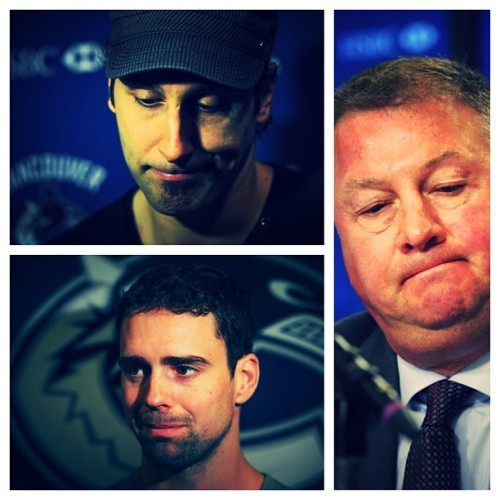 IN PHOTOS: The many sad faces of the Canucks.Instagram Challenge: Shoot something sadder using #provincegram. (Photos: Jason Payne/PNG)