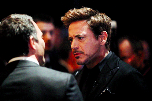 Robert and Mark Ruffalo at the 85th Academy Awards
