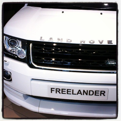 New Freelander coming my way - it will be in Frienzer Red with black interior - can't wait for the new car smell