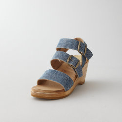 themodernexchange:  Three Strap Wedge Sandal by No. 6 | Steven Alan