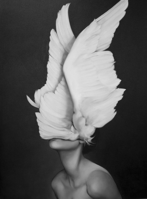 black-white-madness:  Madness:  Awakening by Amy Judd Art