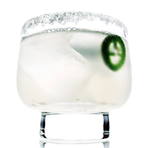Daily Bite: Jalapeno Margarita Give your classic margarita a kick with jalapeno!