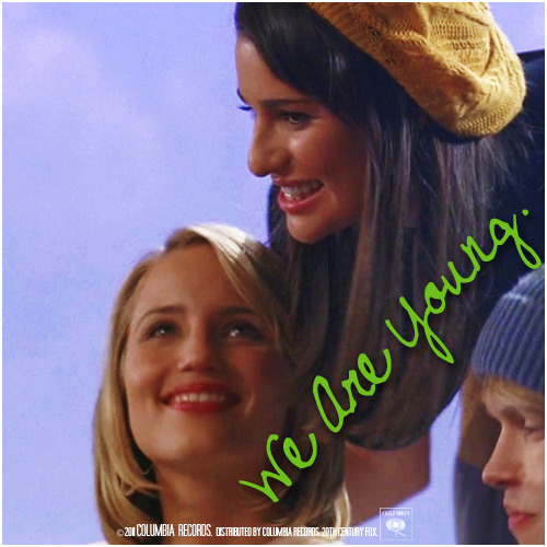 3x08 Hold On To Sixteen | We Are Young Alternative Cover 'The Faberry Series'
