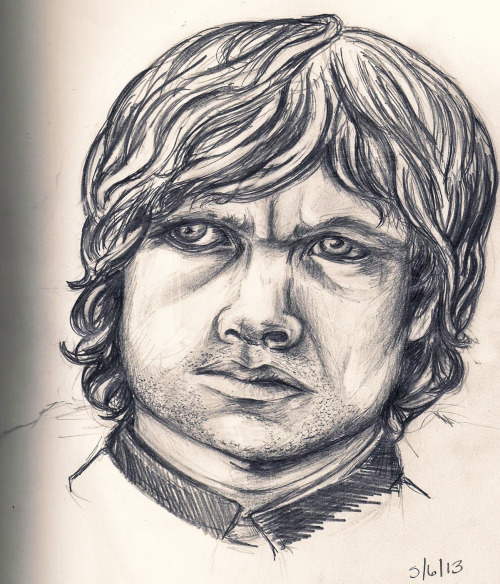 his eye! why is it not coming out right? :(  I'm sorry Tyrion.