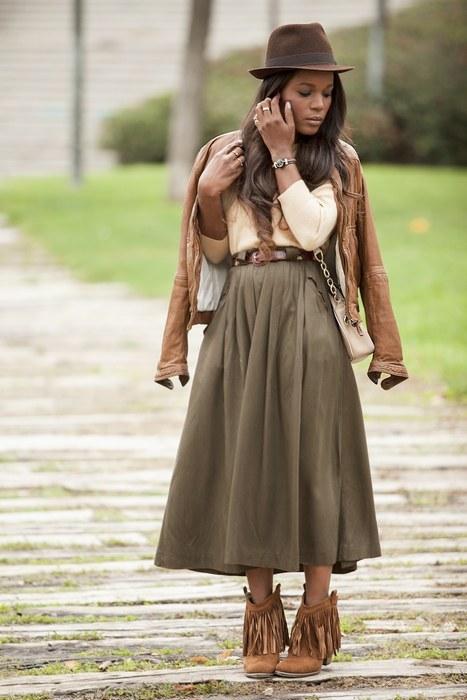 ecstasymodels:Fringe Boots2Piezas BGKI - the #1 website to view fashionable &amp stylish black girls