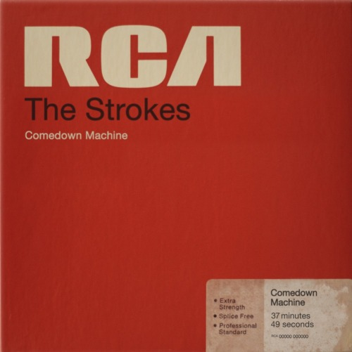 Paint #088 The Strokes - Comedown Machine (2012)