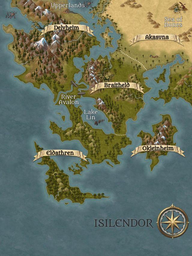 ISILENDOR MAP