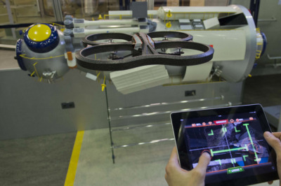 ESA is looking to crowdsource Parrot.AR drone docking data, hopes this will lead to autonomous ISS docking algorithms. Interesting idea for such a large organisation, and further proof that the family of technologies around drone development are the platform of choice for grassroots space R&D in the medium-term.
