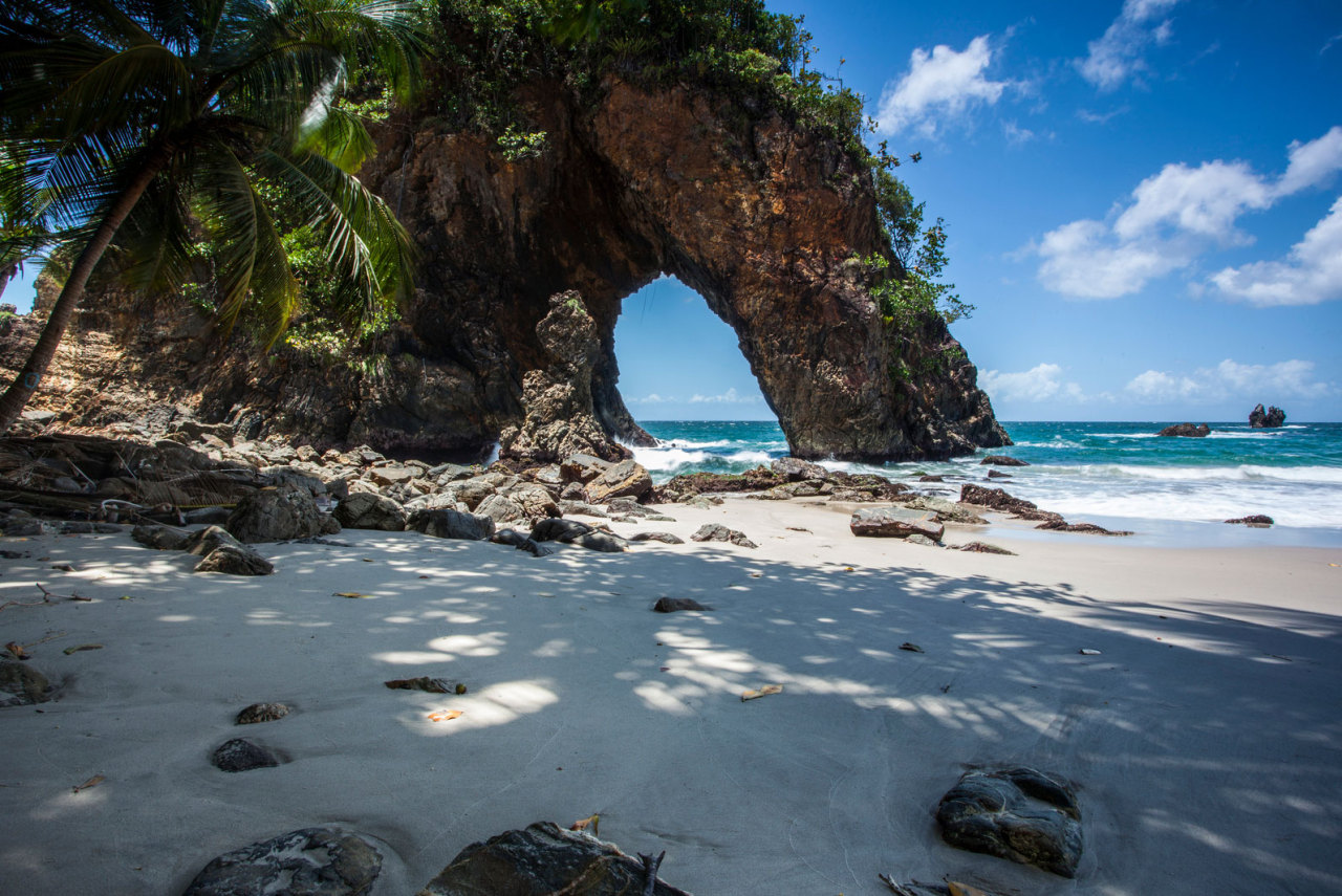 Cathedral Rock / Paria Bay, Blanchisseuse , Trinidad North Coast, Caribbean.Photo by Timothy Corbin.