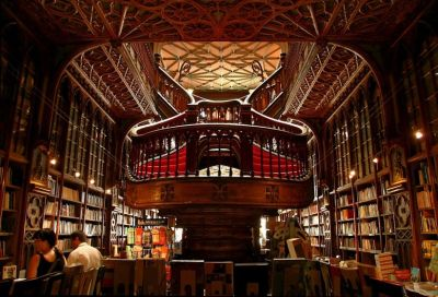 "libraries and bookstores - favorite places! This one is just stunning. More here ""The Lello bookstore in Porto, Portugal, is open since 1906 and is surely one of the most beautiful bookstores of the world. Photography by delviking Flickr.com"""