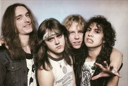 metallikiwisareprecious:  Metallica, the Cliff Burton era.