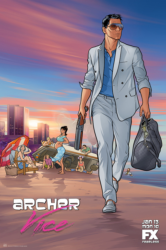 popculturebrain:  Poster:'Archer' Season 5   Uproxx