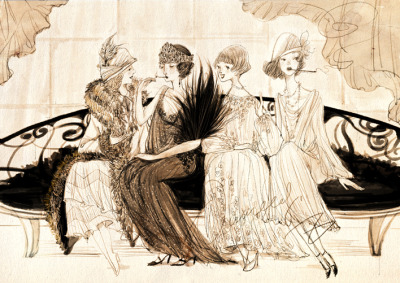 eggtochicken:  1920s by nancy0039 on deviantArt
