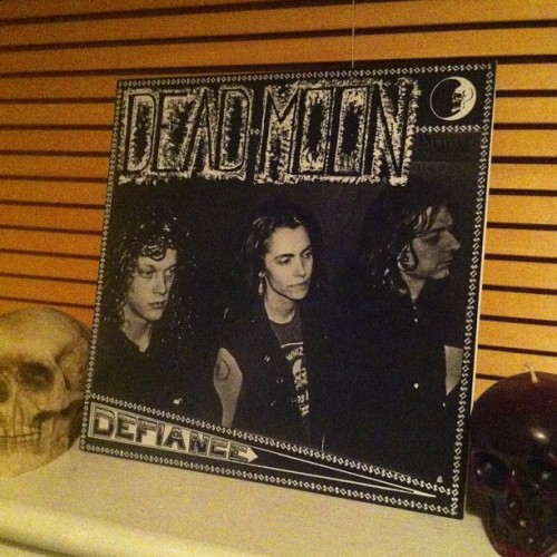 Walking on my grave #deadmoon #vinyl