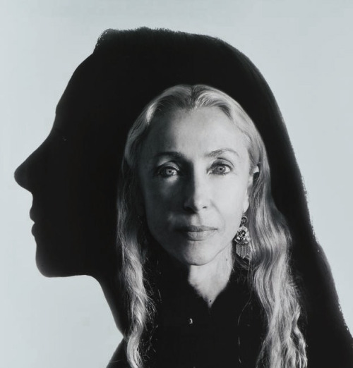 """Lagerfeld's Gallery"": Franca Sozzani by Karl Lagerfeld for V #11 May/June 2001"