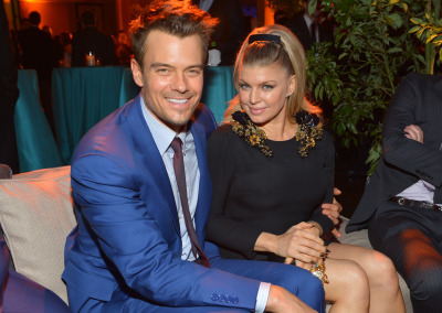 "Fergie + Josh Duhamelare officially expecting their first child together. ""Josh and Me and BABY makes three,"" Fergie tweeted on Monday."