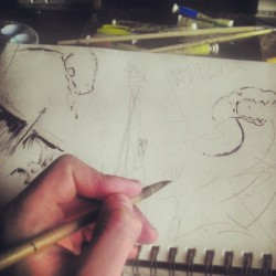 #chinese #brush #& #ink #starts the #page