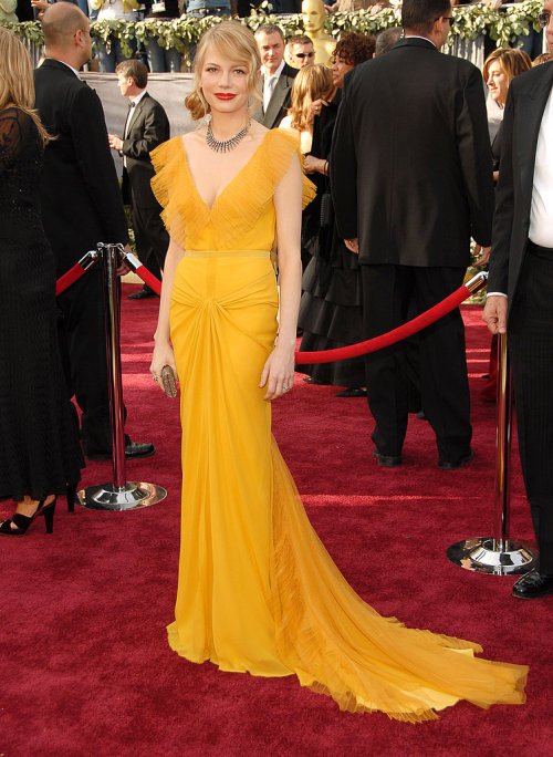 michelle williams | vera wang | oscars 06