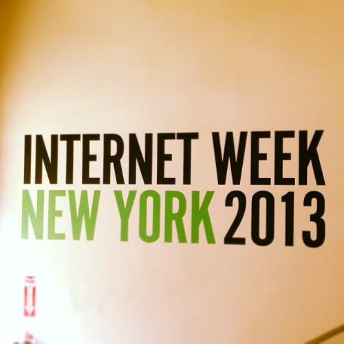 At Internet Week NY #iwny #tech #digitalmarketing