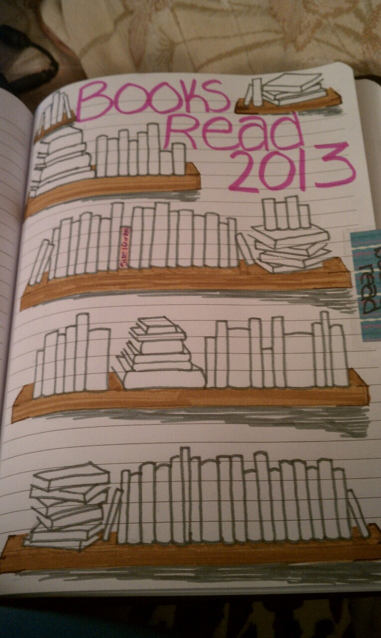 My goal is to read 100 books this year..every time I read a book ill color one of these in