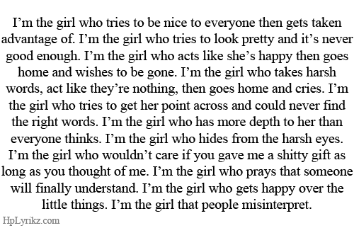 hplyrikz:  The best quotes on Tumblr.  yepp thats pretty much me right there…