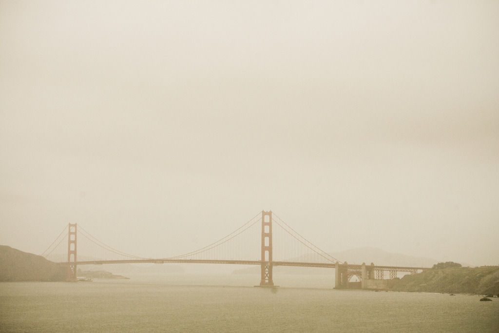 Golden Gate Fog. Taken April 2009 during one of the most significant trips I've ever traveled.
