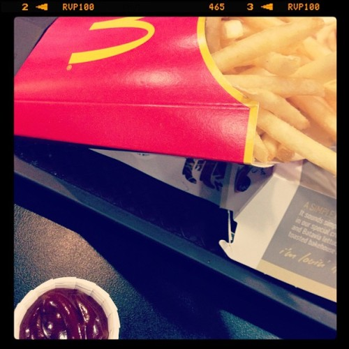 #mcdonalds #fries #junk #sauce #bbq