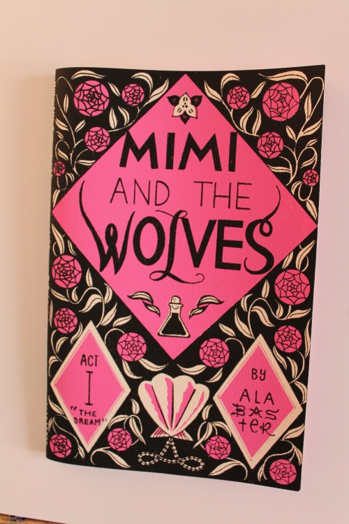 Mimi and the Wolves. Just bought it at Desert Island. Beautiful.