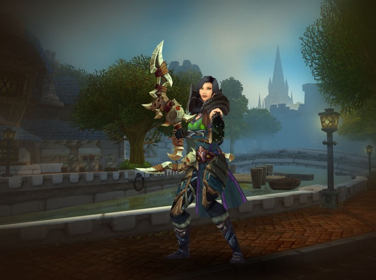 Shurrika, Destroyer's End Female Human Rogue US Zul'jin [Ruthless Gladiator's Leather Spaulders] [Cataclysmic Gladiator's Leather Tunic] [Green Trophy Tabard of the Illidari] [Dreadful Gladiator's Armwraps of Accuracy] [Tyrannical Gladiator's Leather Gloves] [Tyrannical Gladiator's Waistband of Cruelty] [Tyrannical Gladiator's Leather Legguards] [Dreadful Gladiator's Boots of Cruelty] [Ruthless Gladiator's Shanker] [Ruthless Gladiator's Shanker]