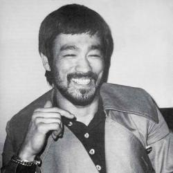 Bruce Lee with a BEARD!
