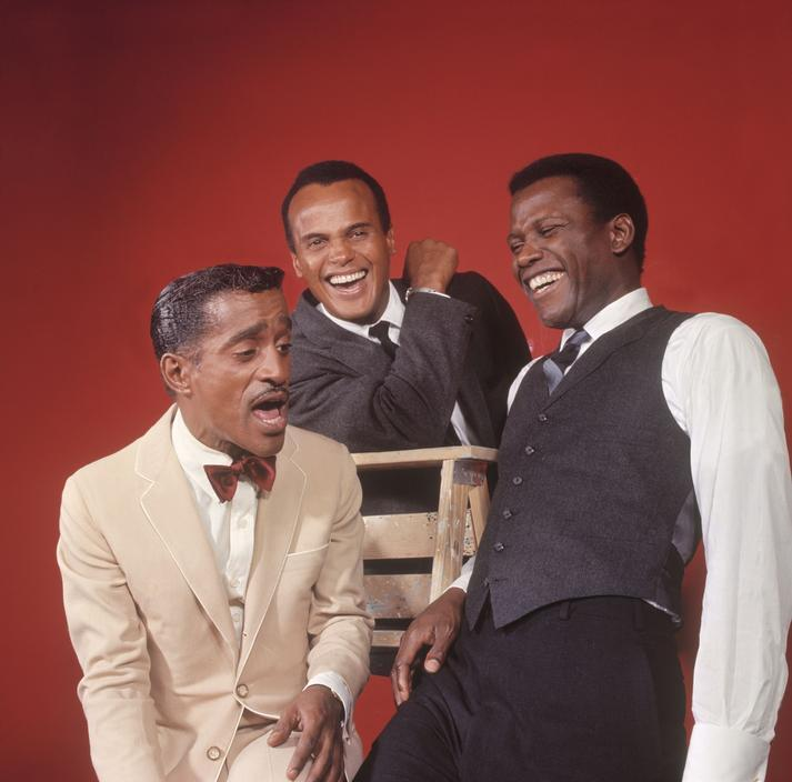 vintageblackglamour:  ICONS: Sammy Davis, Jr., Harry Belafonte and Sidney Poitier in an outtake from their February 4, 1966 LIFE magazine cover. Thank you Reggie Hudlin! Photo: Philippe Halsman/Magnum Photos.