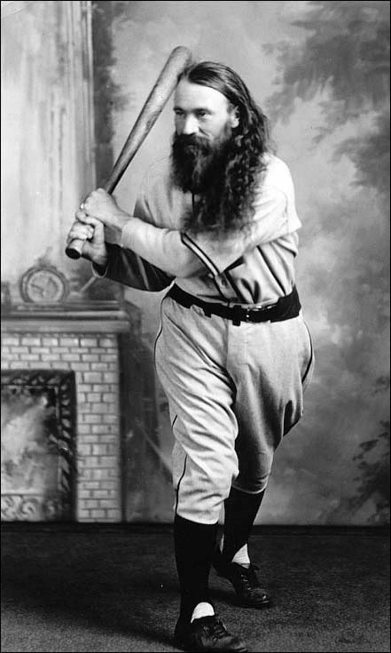 My favorite bearded Jewish baseball cult.
