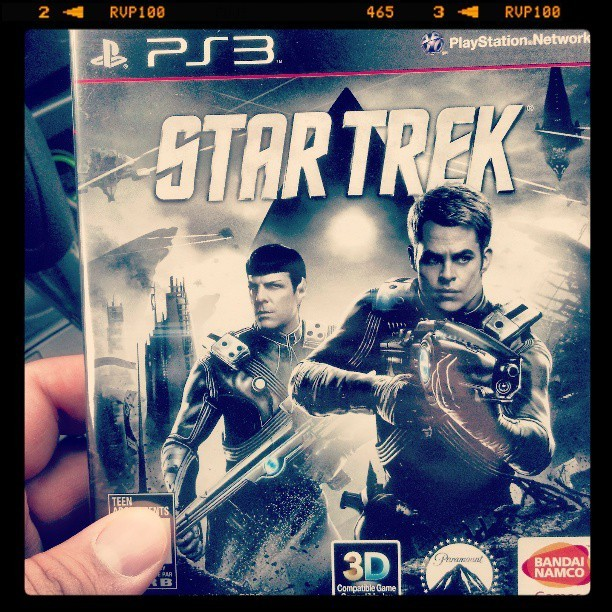 Picked this up today. Let's see how this rolls. #startrek #phasers #spock #kirk #ussenterprise #enterprise #explosions #aliens  (at Black Horse Pike)